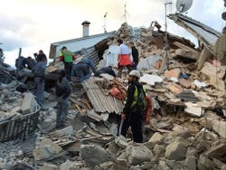 В Италии уже 38 погибших в результате землетрясения