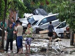 Жертвами наводнения в столице Македонии стали более 20 человек