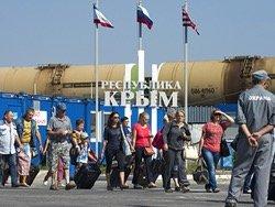 Время ожидания на Керченской переправе выросло на пять часов
