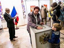 В Литве проходит голосование на выборах в Госдуму