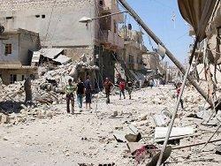 Боевики обстреляли в Алеппо два квартала, торговый центр и завод