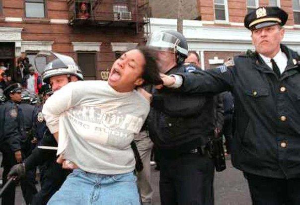 Полицейский беспредел на страже американской свободы