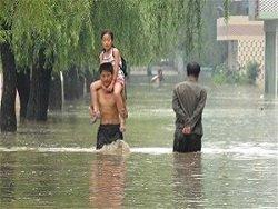 Наводнение в КНДР и реакция Южной Кореи