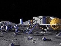 Около спутника Земли построят базу с луноходом и шлюзами