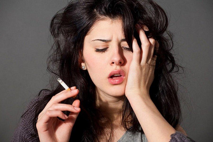 Головная боль от сигарет