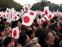 Японские националисты призвали власти отменить санкции и признать Крым российским