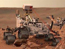 Ровер Curiosity, похоже, обнаружил на Марсе грязевые узоры