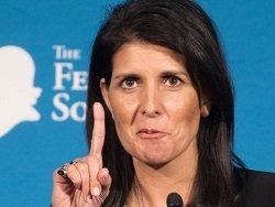 Новым постпредом США при ООН станет 45-летняя Никки Хейли