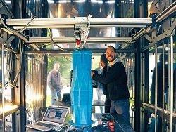 В Подмосковье построили жилой дом с помощью гигантского 3D-принтера