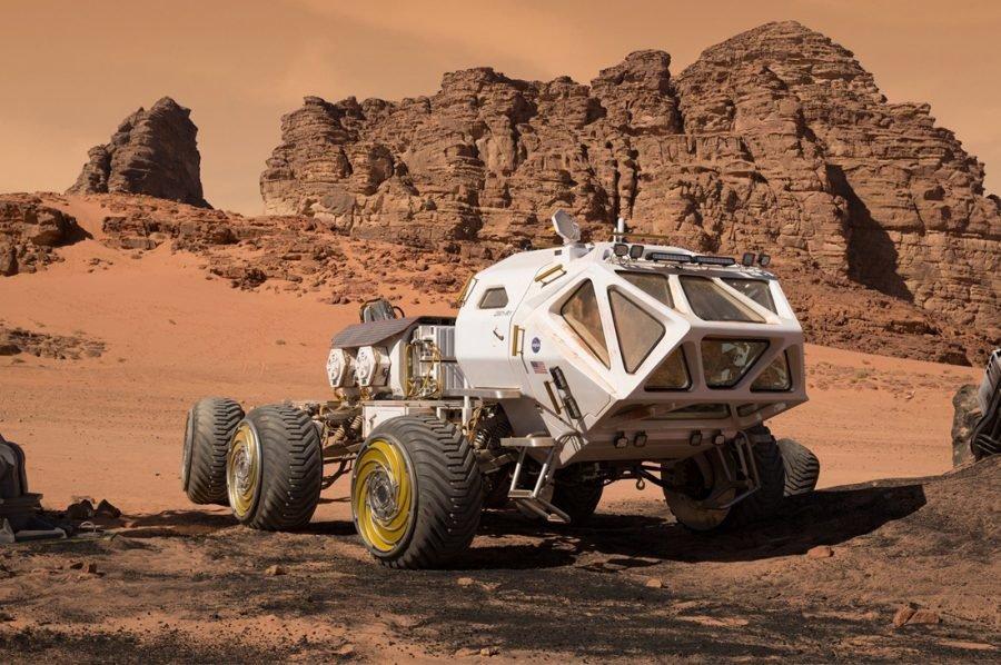 Названы три возможных района добычи марсианских минералов в 2020 году