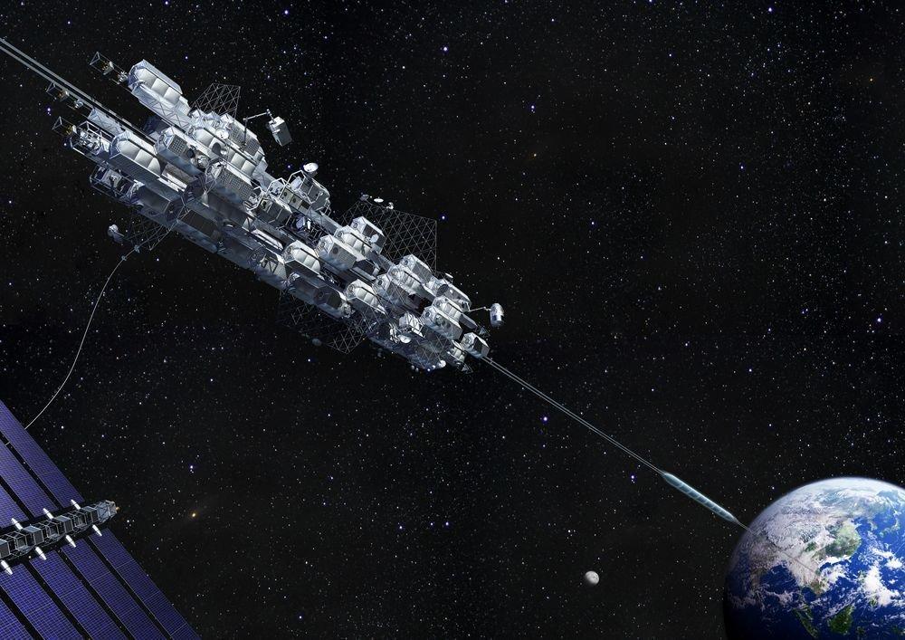 Спутник на веревочке или космические тросовые системы