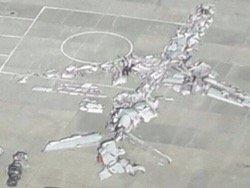Катастрофа Ту-154 у Сочи: почему передняя часть разрушена больше хвостовой?