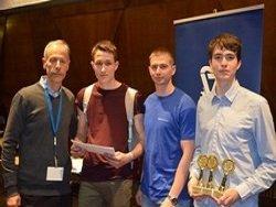 Томские школьники взяли три золота на международных соревнованиях Роботраффик в Израиле