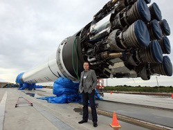 Завершена проверка Falcon 9 для миссии SES 10