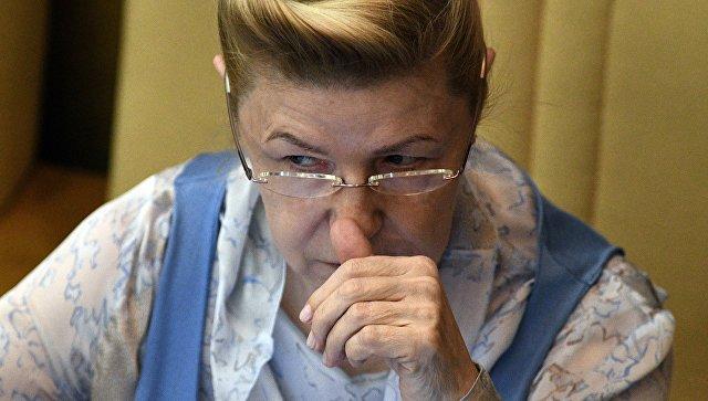 Мизулина предложила не рассказывать школьникам об уровне коррупции в России