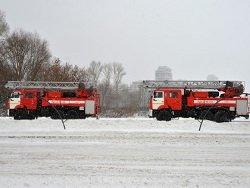 Четыре человека погибли при пожаре под Ульяновском