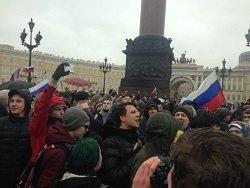 В Петербурге отпустили всех задержанных на акции протеста против коррупции