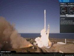 SpaceX повторно запустила и успешно приземлила ступень ракеты Falcon