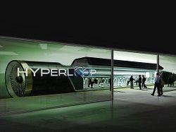 Илон Маск закончил строительство тестовой трассы Hyperloop One в Неваде
