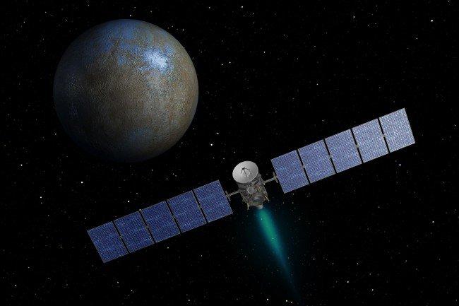 Станция Dawn готовится взглянуть на Цереру с необычного ракурса