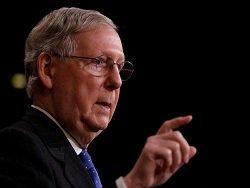 Лидер республиканцев в Сенате предложил наказать РФ санкциями за поддержку Асада