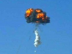 Запущенная в КНДР ракета взорвалась через несколько секунд после пуска