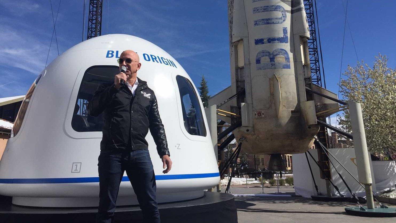 Blue Origin повезет туристов в космос в 2018 году