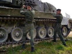"""Новейшие """"Леопарды"""" и """"Леклерки"""" не смогли отличиться даже на фоне Т-64"""