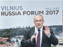 Ходорковский берет в союзники Путина