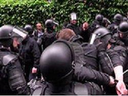 Беспорядки в Киеве: полиция опубликовала видео задержания националистов