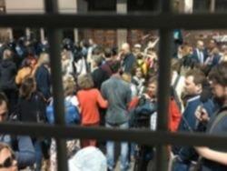 У здания Совфеда проходят пикеты против реновации
