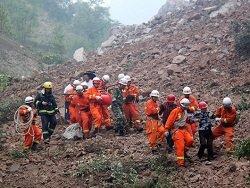 Оползень в китайской провинции Сычуань: под завалами - более 100 человек