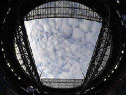 """На """"Зенит Арене"""" во время матча протекла крыша, за которую ручался вице-губернатор Петербурга"""