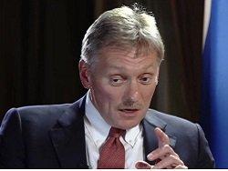 Песков: Москва не будет вводить ответные меры на антироссийские санкции