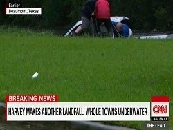 Журналист CNN спас мужчину в прямом эфире