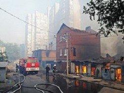Причиной масштабного пожара в Ростове-на-Дону стали умышленные поджоги
