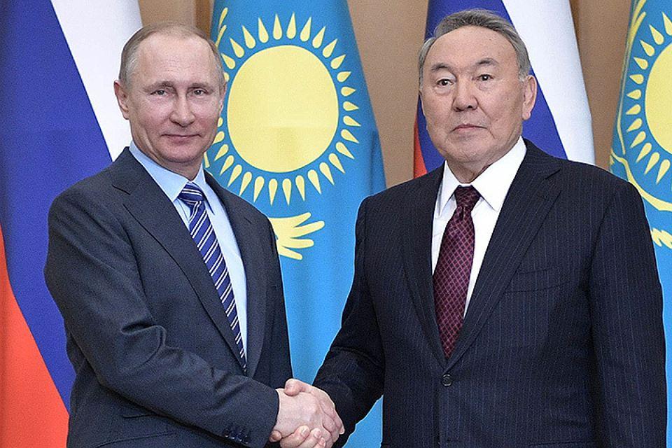 Путин подарил Назарбаеву часть Новосибирской области