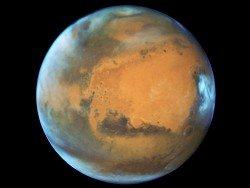 Ученые назвали лучшие места для поселений на Марсе и Луне