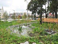 """За три дня в парке """"Зарядье"""" уничтожили 10 тысяч растений"""