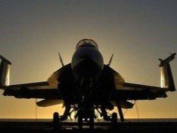"""В пустыне Невада разбился """"секретный самолет"""""""