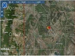 Землетрясение магнитудой 5,5 зарегистрировано в штате Айдахо в США