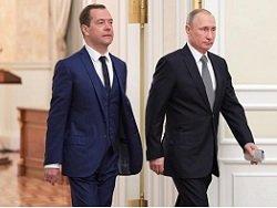 """Путин-Медведев: """"Тандем""""снова дал трещину"""