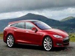 В сети появились изображения нового универсала на базе Tesla