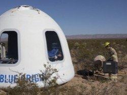Blue Origin продолжила испытания суборбитальной ракетной системы New Shepard