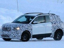 Volkswagen T-Cross должен поступить в продажу в конце 2018 года