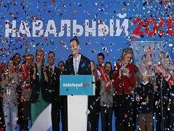 ЦИК принял на рассмотрение документы о выдвижении Навального