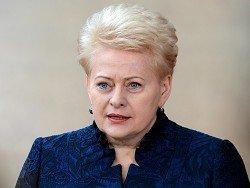 Президент Литвы заявила, что с Россией лучше сотрудничать, чем воевать