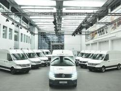 Первые электрофургоны VW e-Crafter выехали на дороги Германии