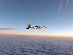 Минобороны прокомментировало ВИДЕО перехвата Су-30 истребителями НАТО над Балтикой