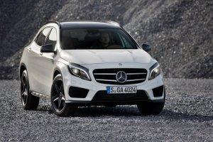Модель Mercedes-Benz GLA замечена на дорогах Германии